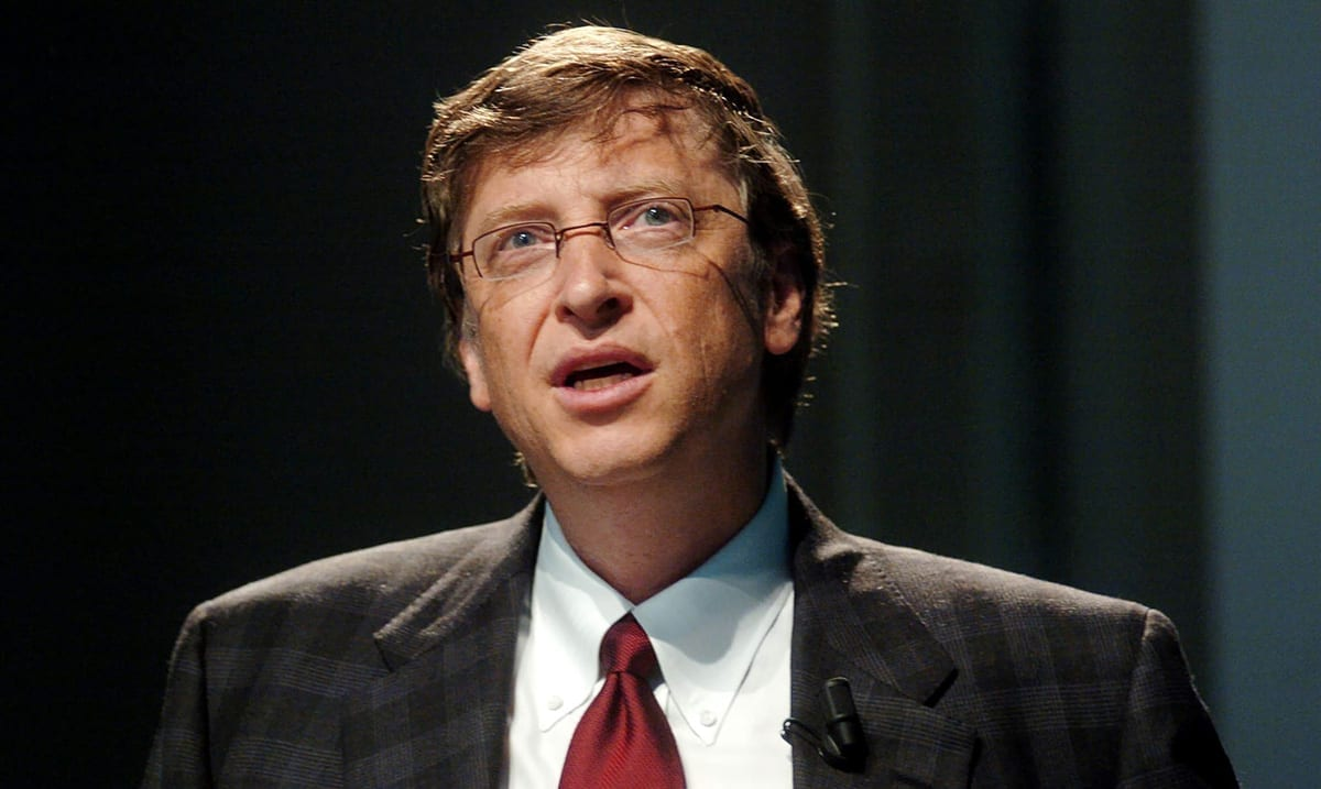 Bill Gates Says We Should Peer Pressure Non-Maskers Into Wearing Masks