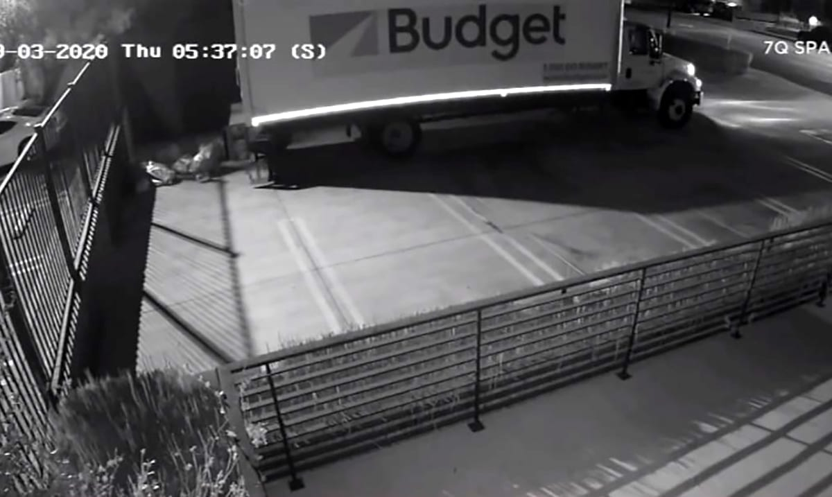 Investigation Underway As Video Footage Shows USPS Mail Dumped In Parking Lot