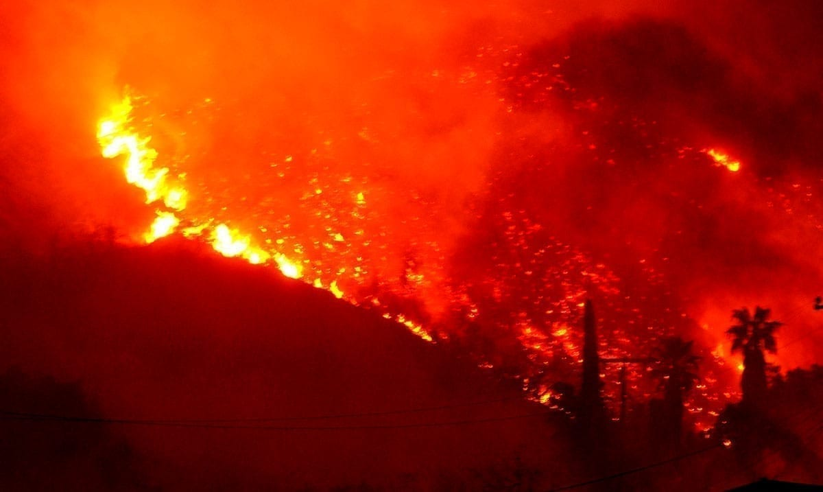 Largest Wildfire In California History Is Still Growing