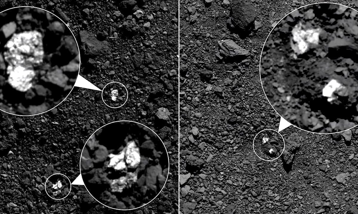 Spectacular Footage of NASA Touching Down Asteroid