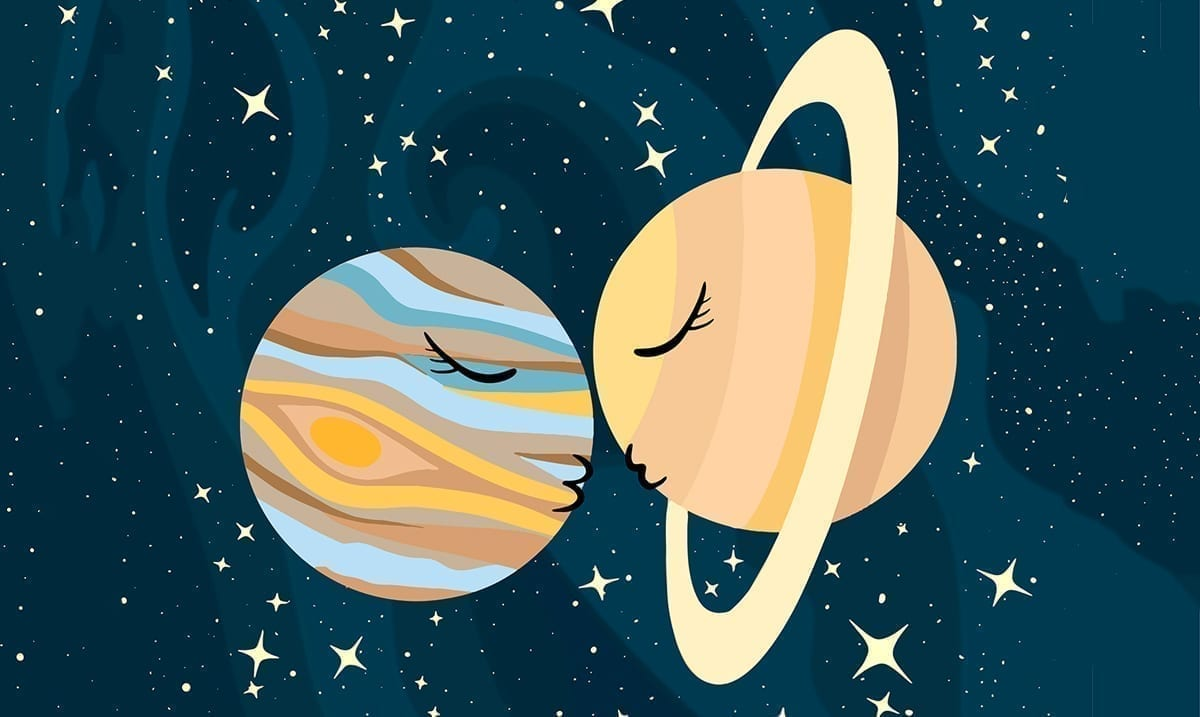 Prepare Yourselves For The 'Great Conjunction' Of Jupiter And Saturn