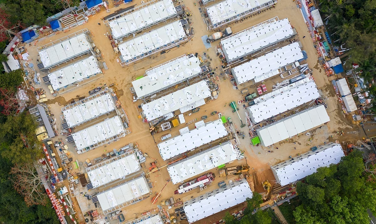China Builds Mind-Blowing Covid-19 Quarantine Camp For Several Thousand People