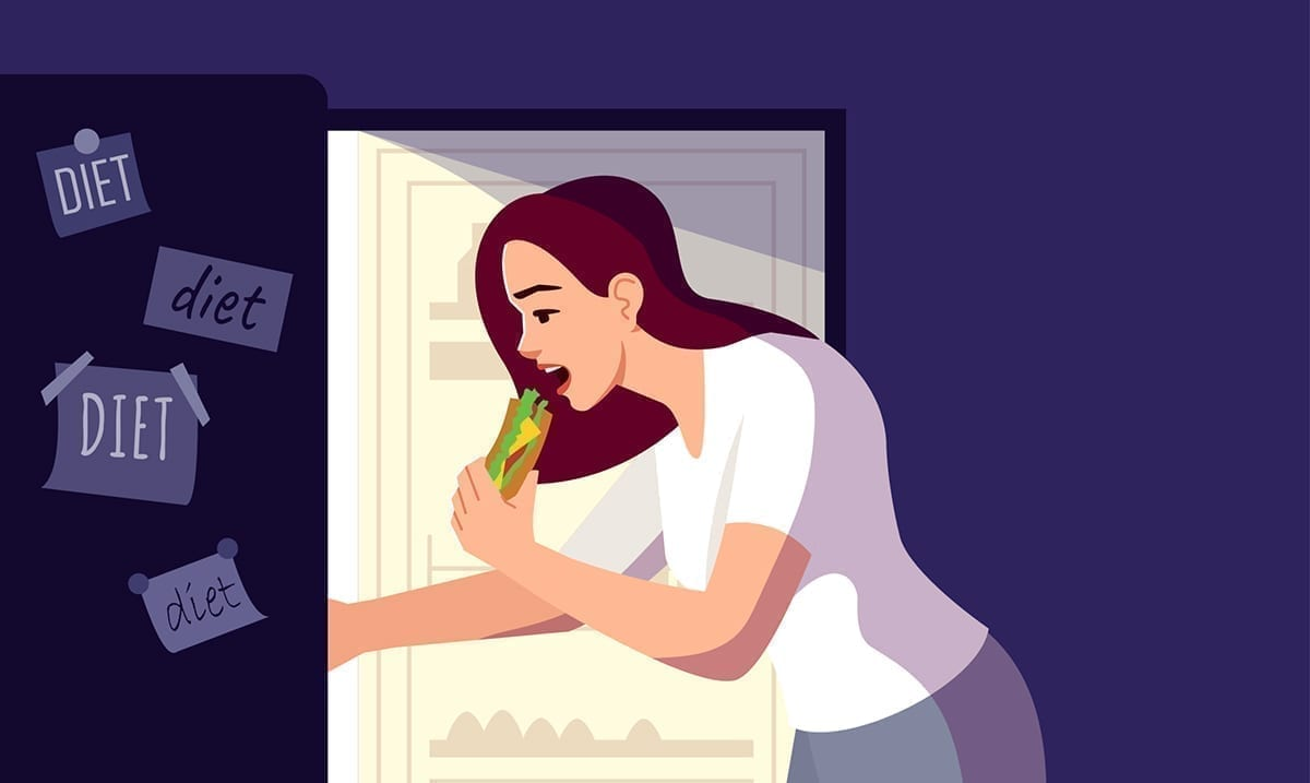 Eating Late At Night Destroys Your Circadian Rhythm