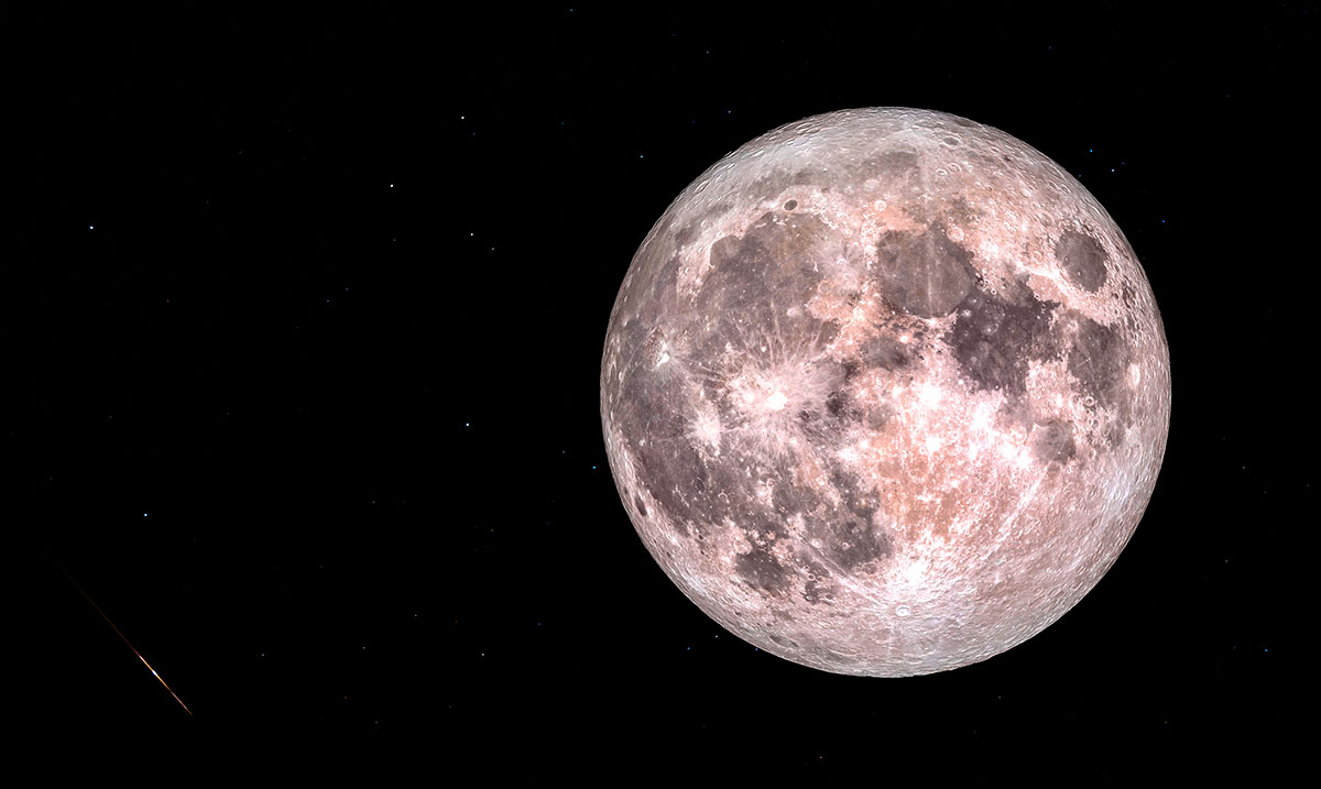 From Supermoon To Shooting Stars, April's Celestial Events To Light Up The Sky