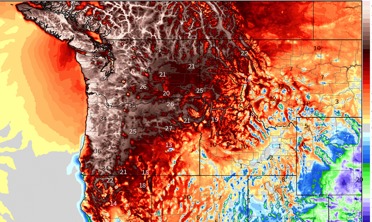 Extreme Heat Shattering Records, Melting Power Cables and Causing Extreme Drought