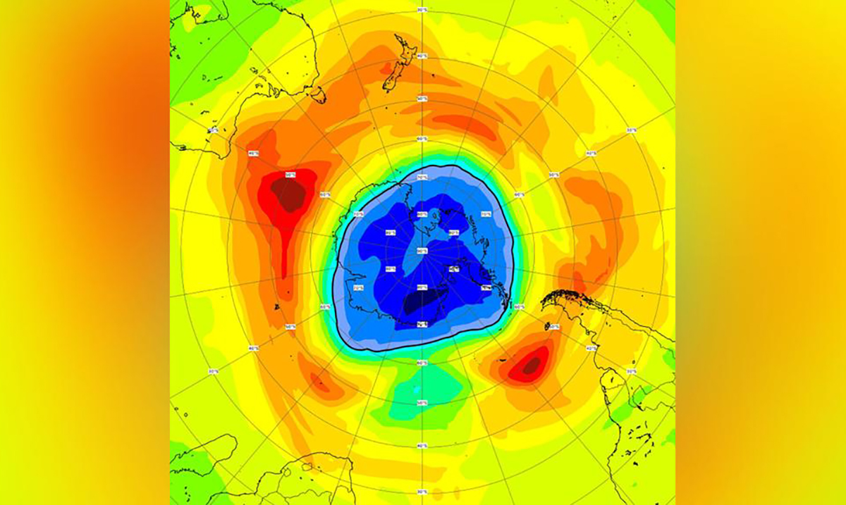 The Hole In The Ozone Layer Is Now Bigger Than Antarctica